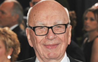 Show of Support? Rupert Murdoch Dines Out With Fox News Execs Shine and Abernethy