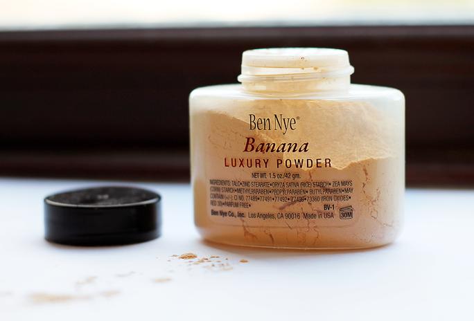 Review   Ben Nye Banana Powder