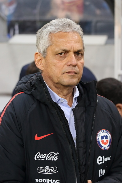 Reinaldo Rueda, entrenador de selección chilena de fútbol
