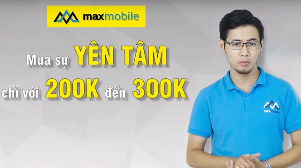 Chế độ bảo hành vàng chỉ có tại MaxMobile