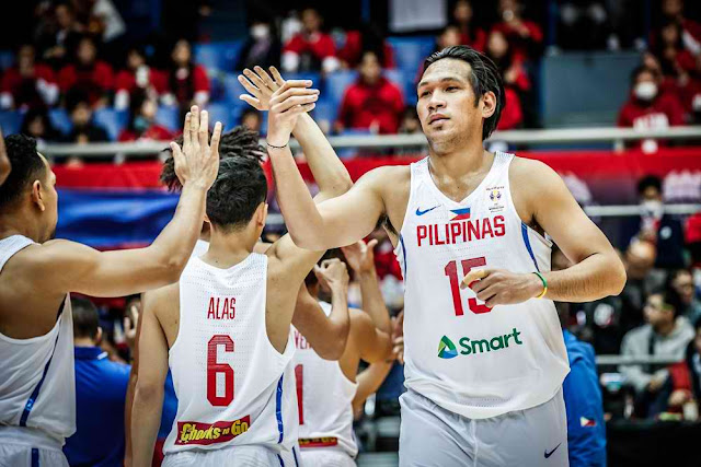 Leading Scorers Gilas Pilipinas vs Chinese Taipei List FIBAWC Asian Qualifiers
