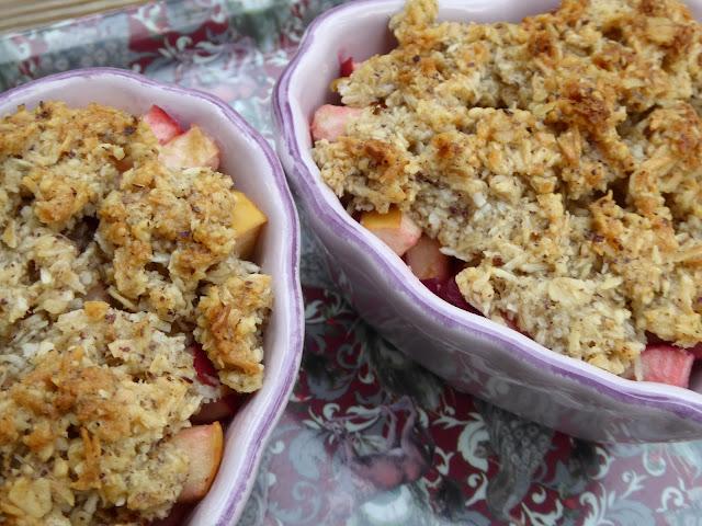 Bär- och äppelpaj till helgen