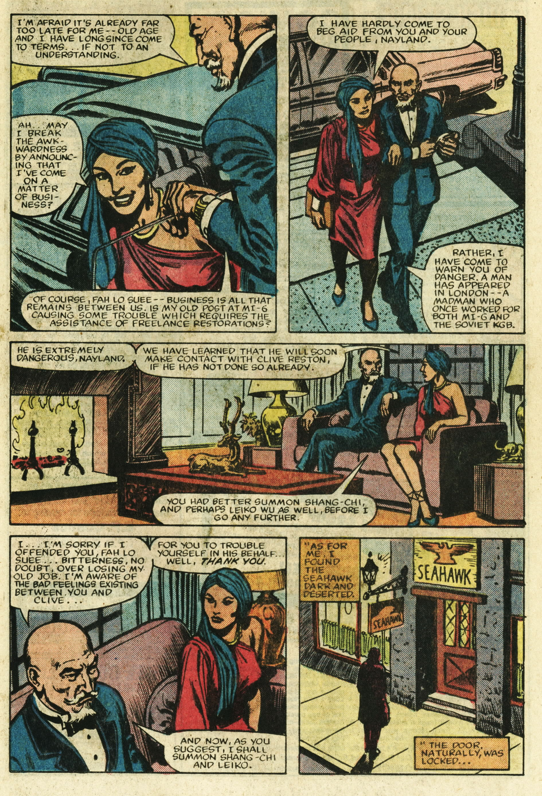 Read online Master of Kung Fu (1974) comic -  Issue #122 - 10