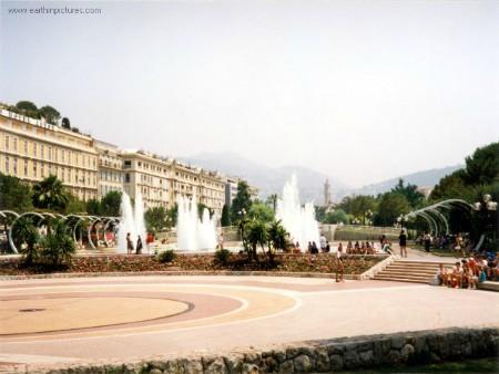 Plaza Massena en la actualidad