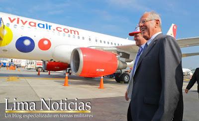 Viva Air Perú comenzó su operaciones en el Aeropuerto Internacional Jorge Chávez