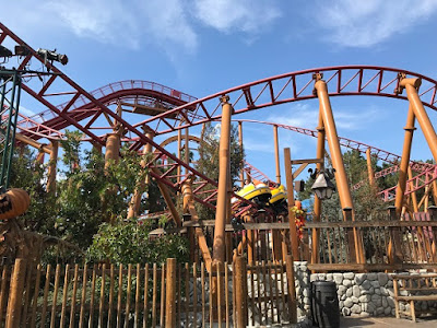 Knott's Berry Farm coasters