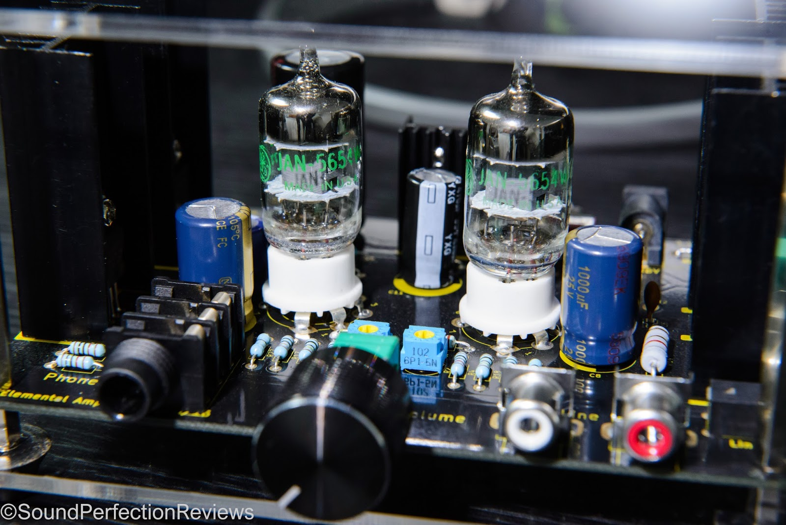 Elemental Watson Class-A Valve/Mosfet Hybrid Headphone Amp