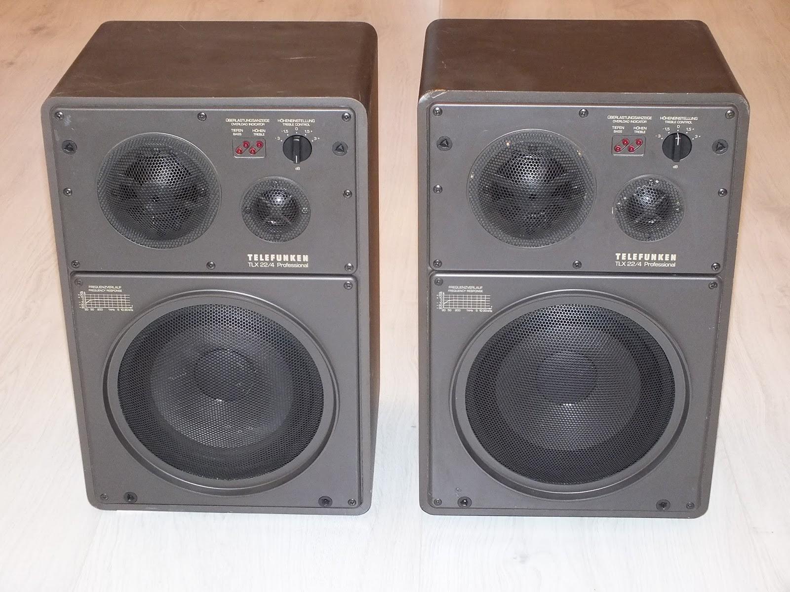 Infrequent Sound [sex.tex] technology: Telefunken TLX 22 ...