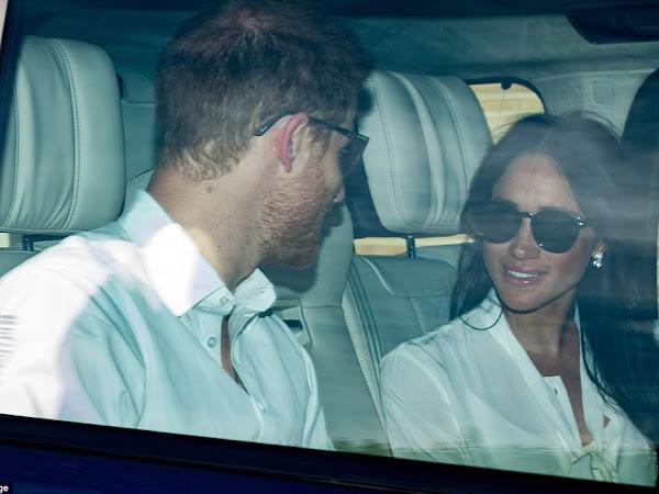Meghan i Harry w Windsorze + więcej.