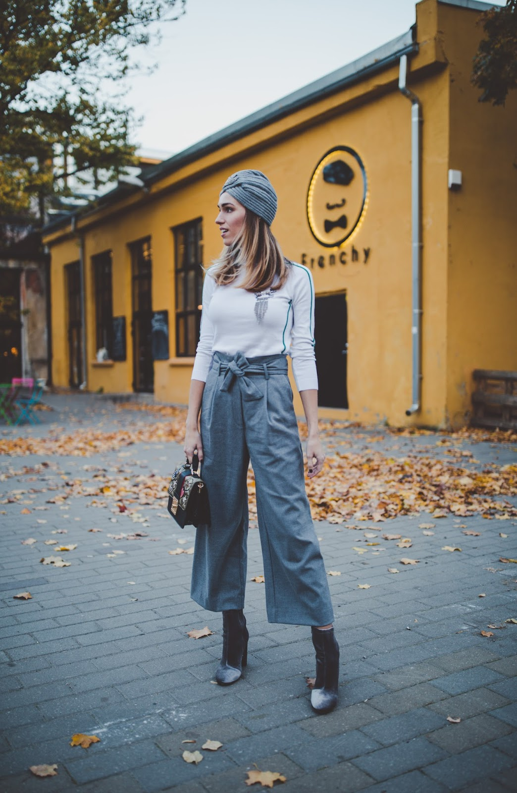 culotte trousers outfit fall