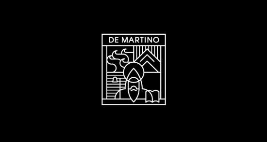 Bold & Thin line Logo De Martino