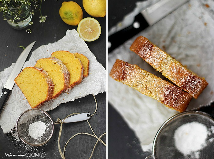 plumcake all'olio extravergine d'oliva e limone