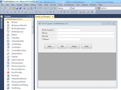 VB .Net - Validasi Panjang Character Pada TextBox