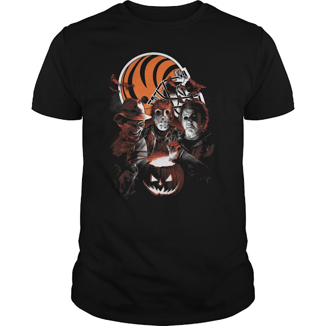 Cincinnati Bengals Halloween Scream Team Shirt