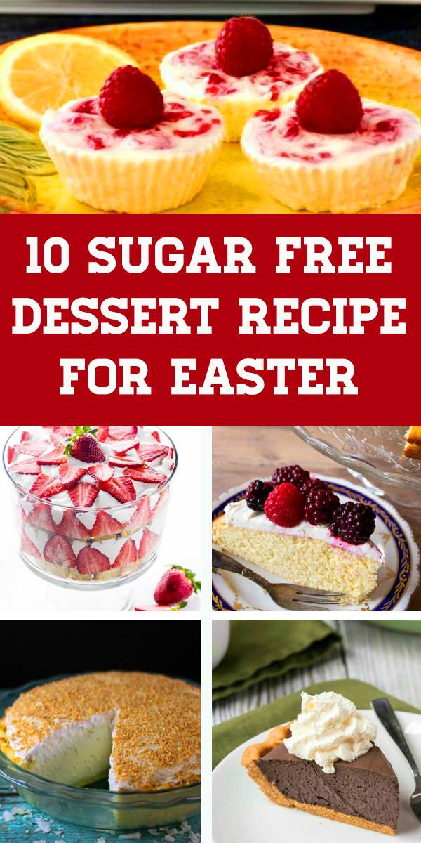 These 10 Healthy Easter Dessert Recipes are all Gluten Free & Sugar Free #glutenfree #sugarfree - from candies to healthy desserts, there's something for everyone. Sugar free recipes desserts, Dairy free dessert easy, Low carb sugar free desserts, Gluten free desserts easy #easter #easterdessert #dessertrecipes #sugarfreedessert #keto #glutenfree #lowcarb #ketodiet #ketogenic