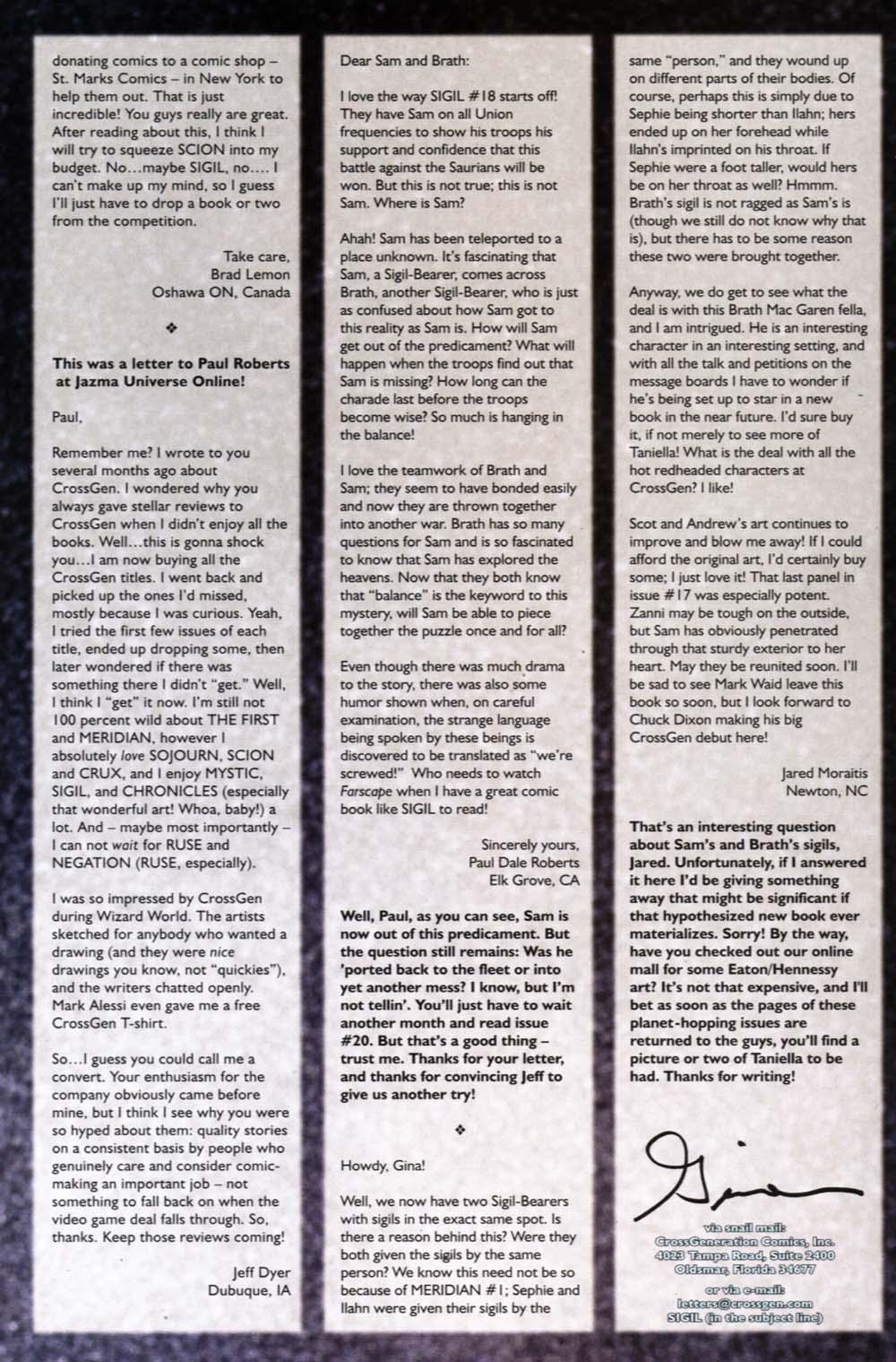 Read online Sigil (2000) comic -  Issue #19 - 32