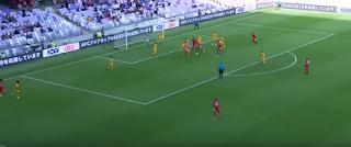 كأس الأمم الآسيوية 2019:الأردن يفتتح مشواره بالبطولة بالفوز على استراليا بهدف