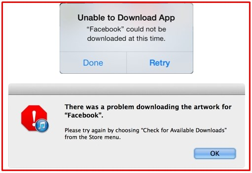 why cant i download facebook on my iphone