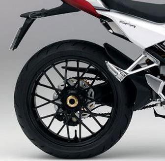 Honda SFA 150 Concept rear tyre Image