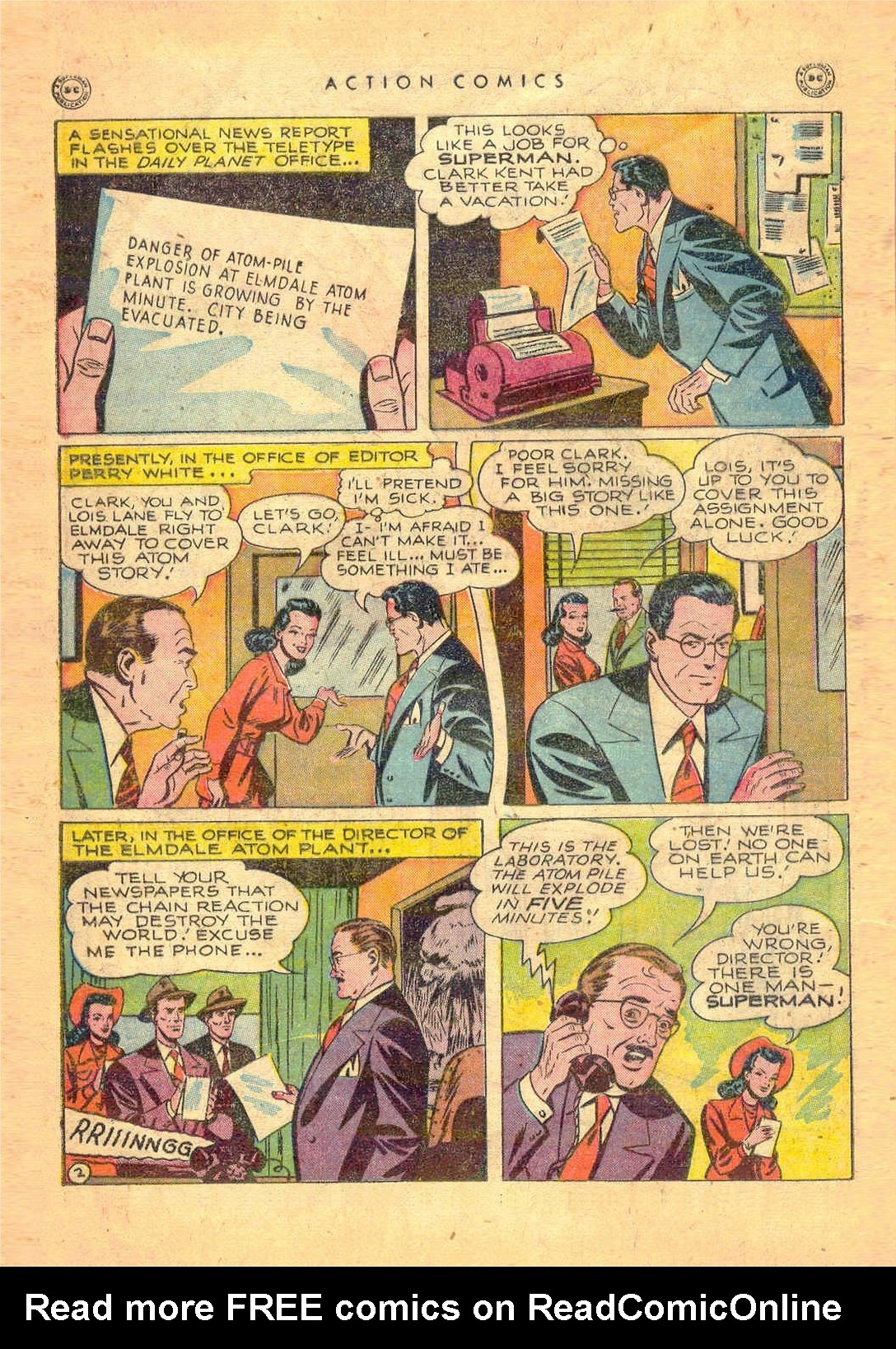 Read online Action Comics (1938) comic -  Issue #124 - 4