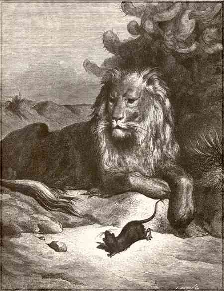 The Lion And The Mouse Narrative Text Teens English Care
