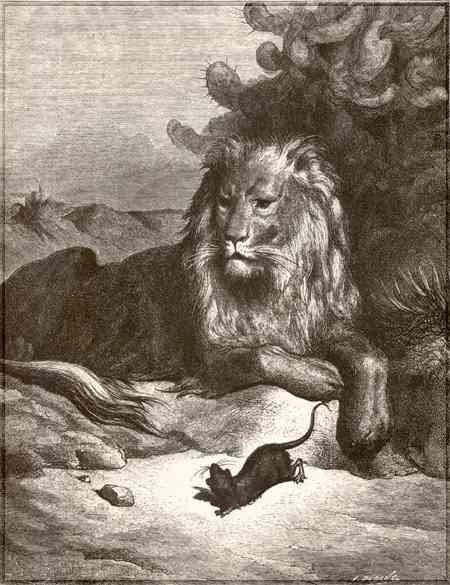 Cerita The Lion And The Mouse : cerita, mouse, Teens, English, Care:, Mouse, Narrative
