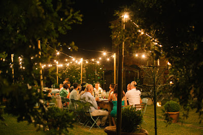 cena matrimonio fuori