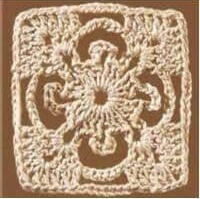 Patrón #1118: Granny a Crochet.