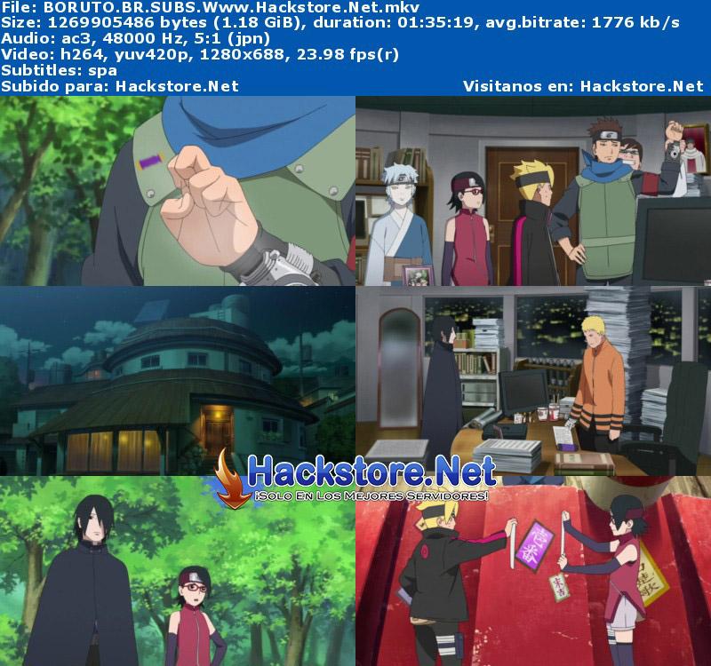 Capturas de Boruto: Naruto la Película (2015) Blu-Ray RIP HD Subtitulada