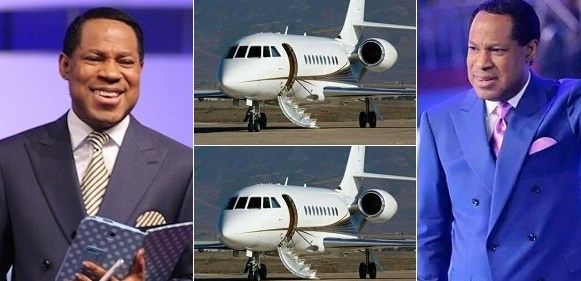 Pastor Chris Oyakhilome Reportedly Gifted A Private Jet By Members Of His Church