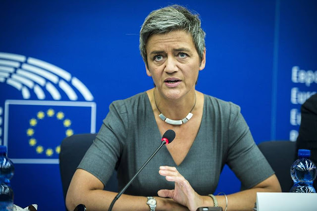 Apple vs Margrethe Vestager - MichellHilton.com
