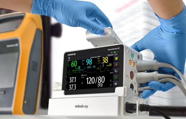 monitor transportable para pacientes críticos