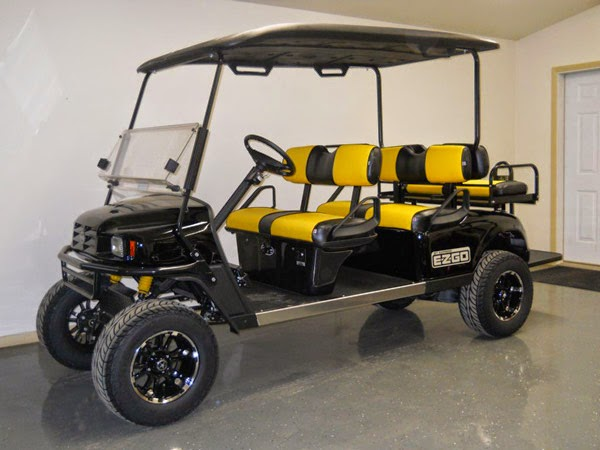 07 on yamaha golf cart ydr