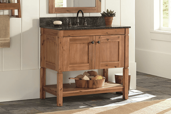 How to choose the Right bathroom Vanity and DIY on a Budget