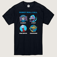 SDCC 2018 Shout Factory Exclusive Mystery Science Theater Robot Rollcall t shirt
