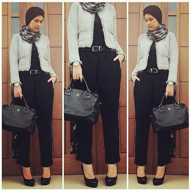 Model Baju Muslim Kantor Terbaru 2015 Indo Fashion