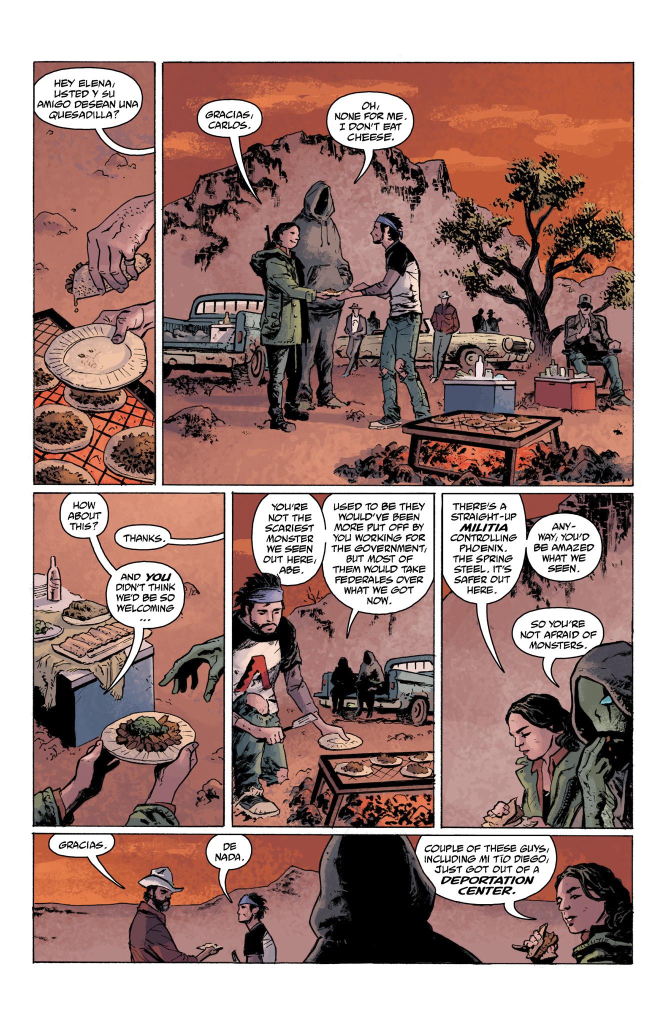 Read online Abe Sapien comic -  Issue #6 - 6