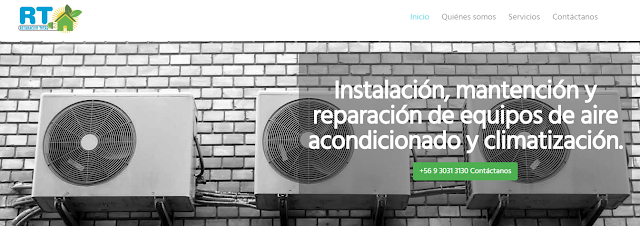 Reparación y mantención de equipos de aire acondicionado y climatizadores