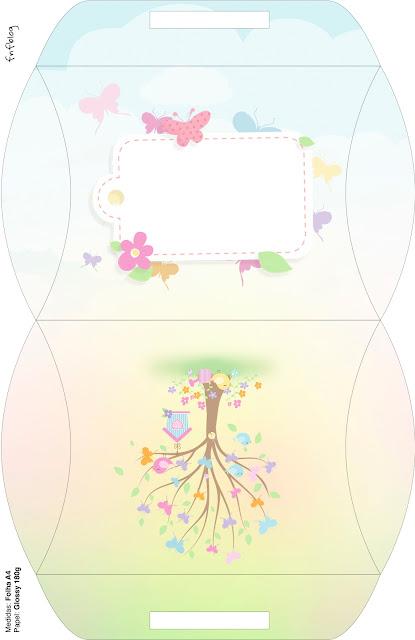 Butterfly´s Garden: Free Printable Wedding Favor Boxes.