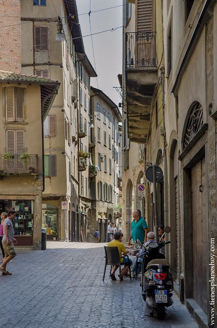 Visitar Bergamo viaje Italia