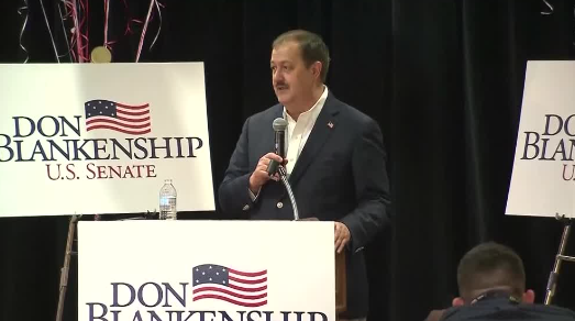 Blankenship, Opposed By Trump, concedes GOP Senate primary in W. Va.