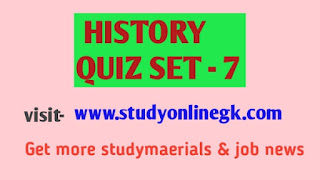 Modern Indian History quiz - General Knowledge Today Struggle for General Studies and GK preparation of SSC, NDA, CDS, UPSC, UPPSC and State PSC Examinations.