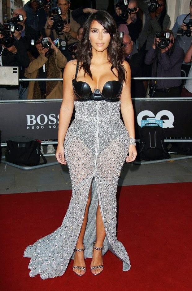 Kim Kardaskian dress