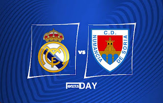 Real Madrid vs Numancia – Highlights
