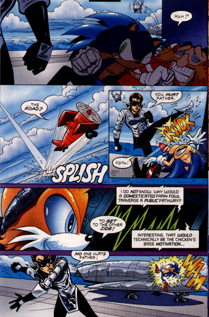 Read online Sonic The Hedgehog comic -  Issue #132 - 10