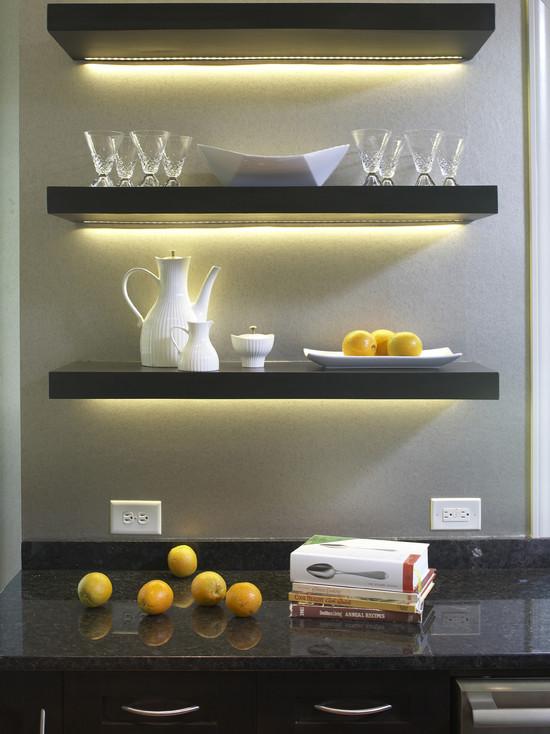 Hack Install Lack Floating Shelves Kitchen
