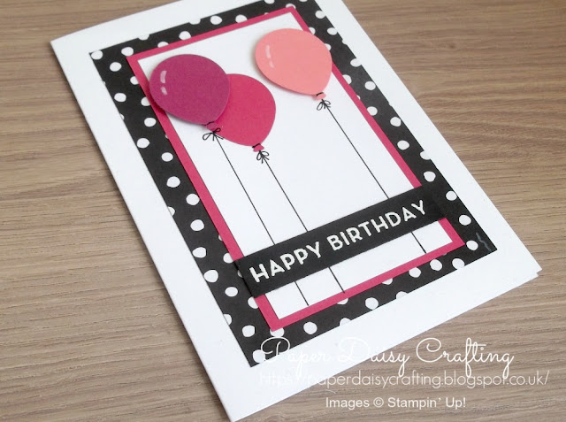 Balloon Bouquet punch from Stampin' Up!