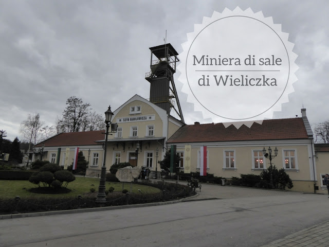 Visita alla miniera di sale di Wieliczka: l'ingresso