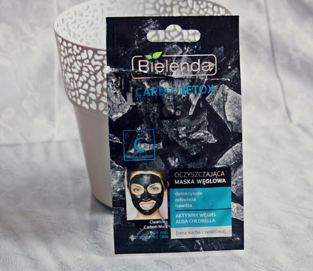 Bielenda, Carbo Detox, Oczyszczająca maska węglowa do cery suchej i wrażliwej