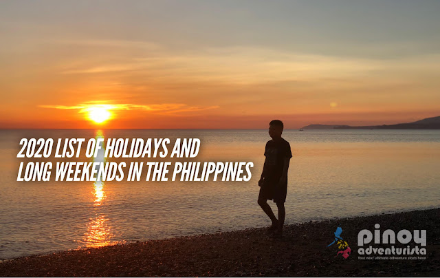 LIST OF 2020 HOLIDAYS IN THE PHILIPPINES LONG WEEKENDS SCHEDULES